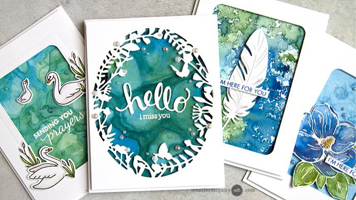 Liquid Watercolor Backgrounds Giveaway Jennifer Mcguire Ink