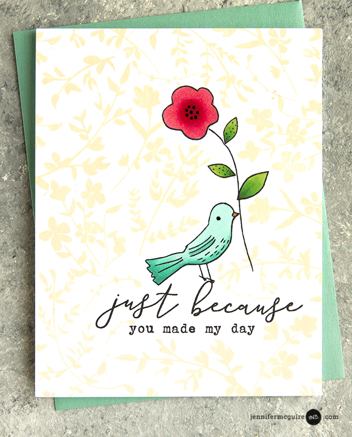 Fill In Stamping Video by Jennifer McGuire Ink