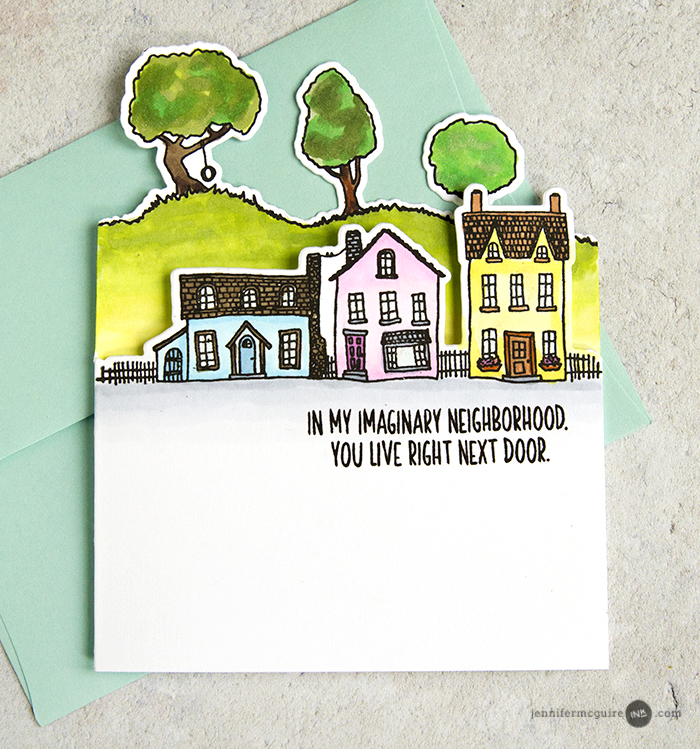 Edge Die Cut Cards Video by Jennifer McGuire Ink