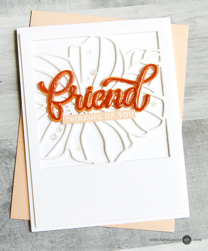 Dimensional Die Cuts Video by Jennifer McGuire Ink