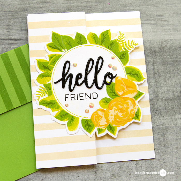 Z Fold Card Designs Video by Jennifer McGuire Ink