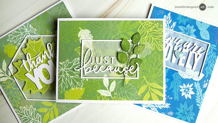 Layered Distress Oxide Resist Video by Jennifer McGuire Ink
