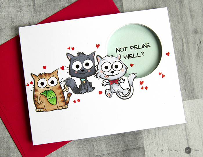 Peek A Boo Cards Video by Jennifer McGuire Ink
