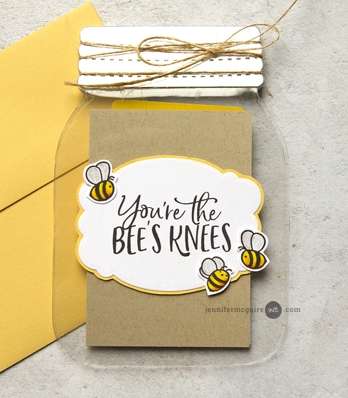 Honey Bee Close Up Video by Jennifer McGuire Ink