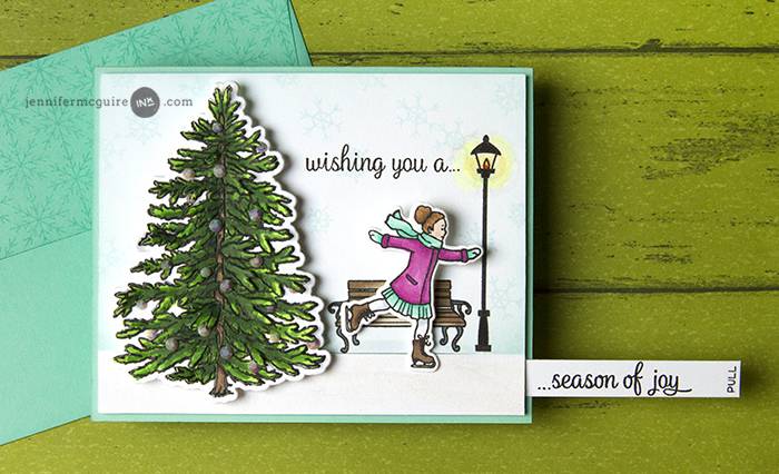 Surprise Slider Cards Video by Jennifer McGuire Ink