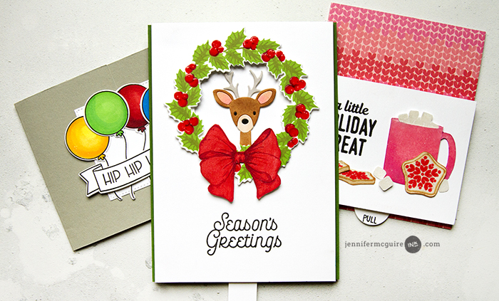 Interactive Cards Video by Jennifer McGuire Ink