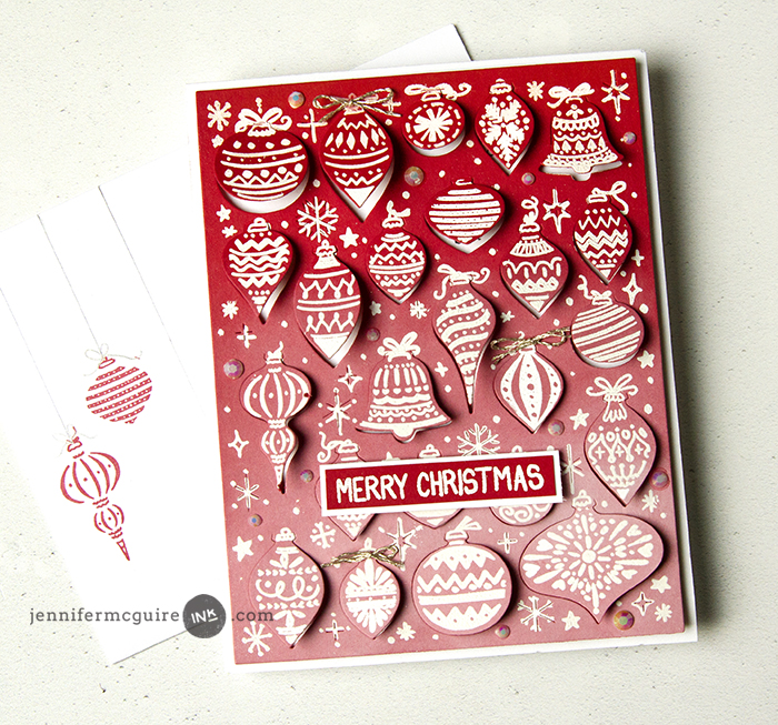 Advent Calendar Cards Video by Jennifer McGuire Ink