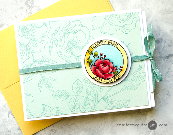 Ribbon Slider Cards Video by Jennifer McGuire Ink
