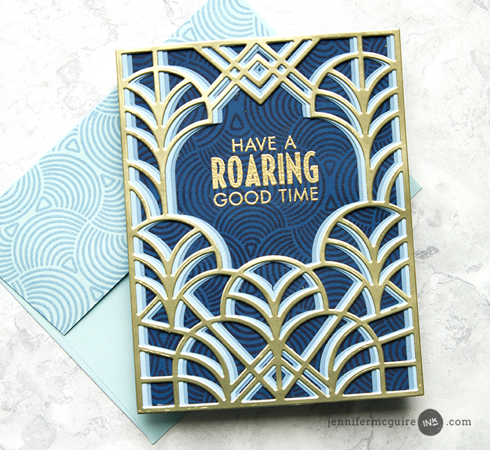 Faux Layering Dies Video by Jennifer McGuire Ink