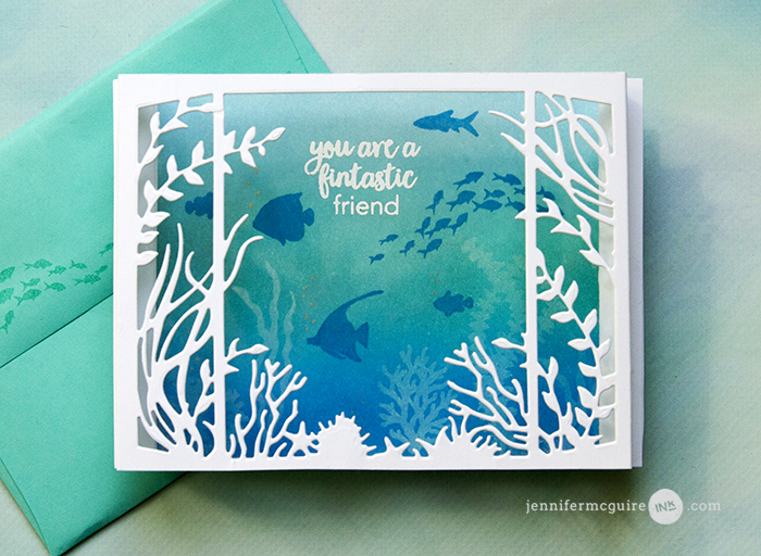 Pop Up Shadow Box Card Video by Jennifer McGuire Ink