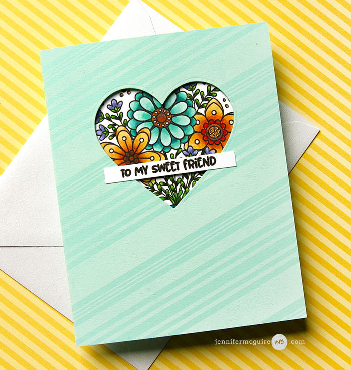 Window Surprise Card Video by Jennifer McGuire Ink