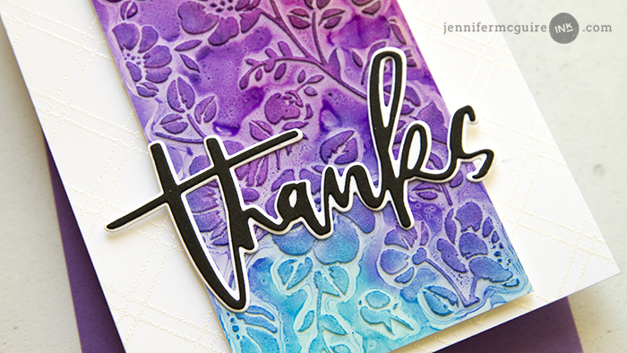 Texture Alcohol Ink Video by Jennifer McGuire Ink