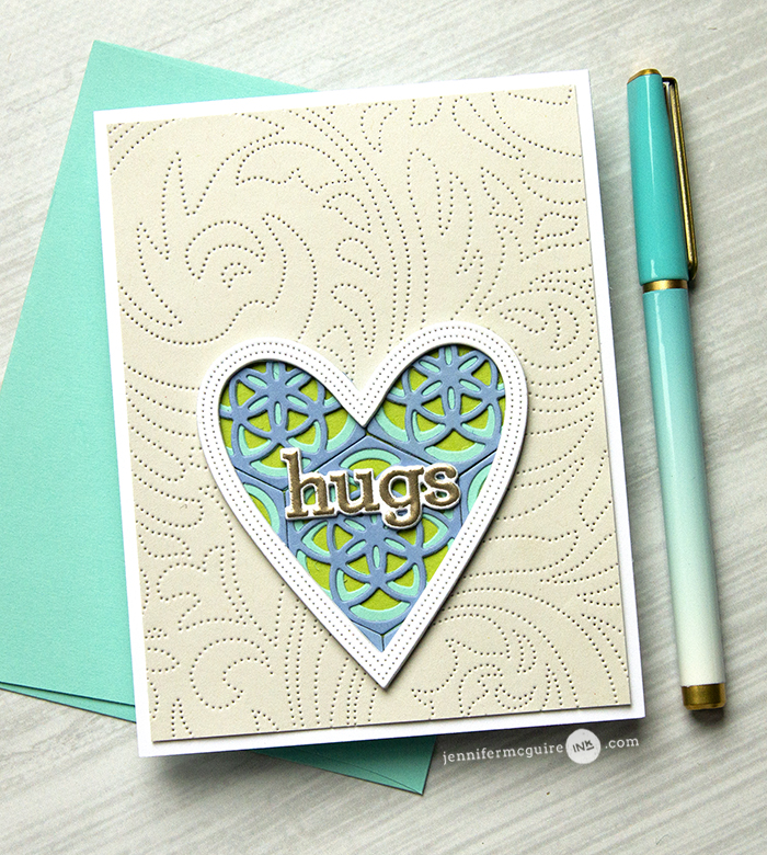 5 WAYS: Heat Embossed Die Cuts - Jennifer McGuire Ink