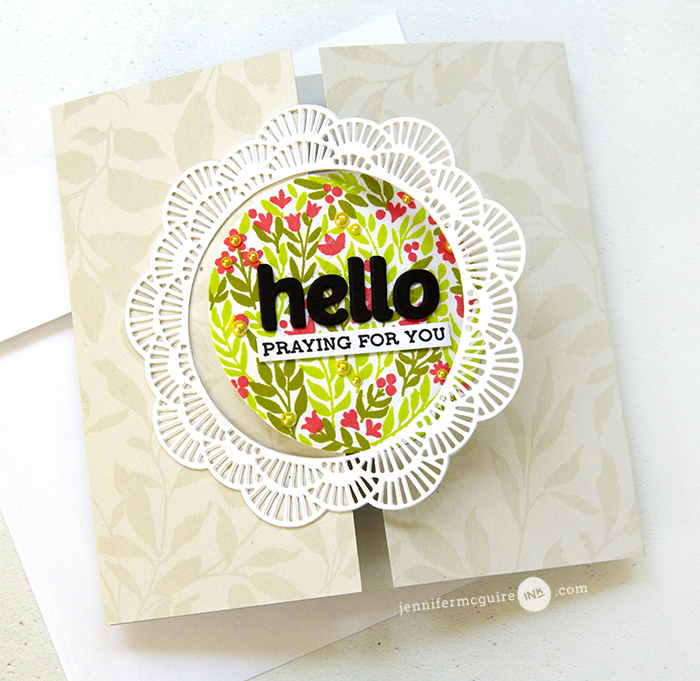 Interlocking Gatefold Cards Video by Jennifer McGuire Ink