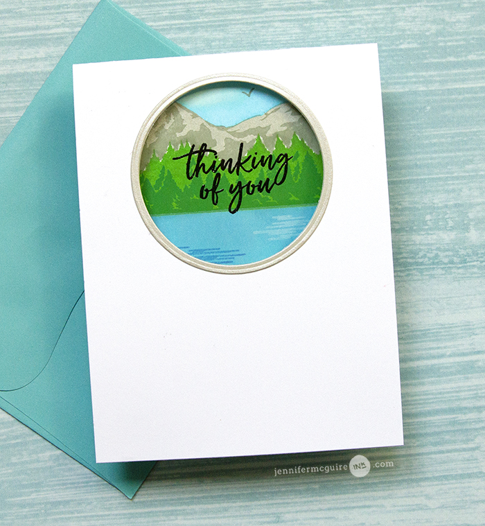Pop Up Trifold Card Video by Jennifer McGuire Ink