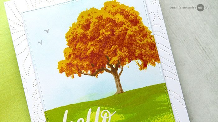 Stamp Layering Tips Video by Jennifer McGuire Ink