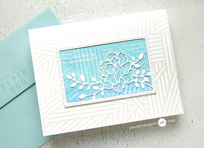 Watercolor Wash Resist Video by Jennifer McGuire Ink