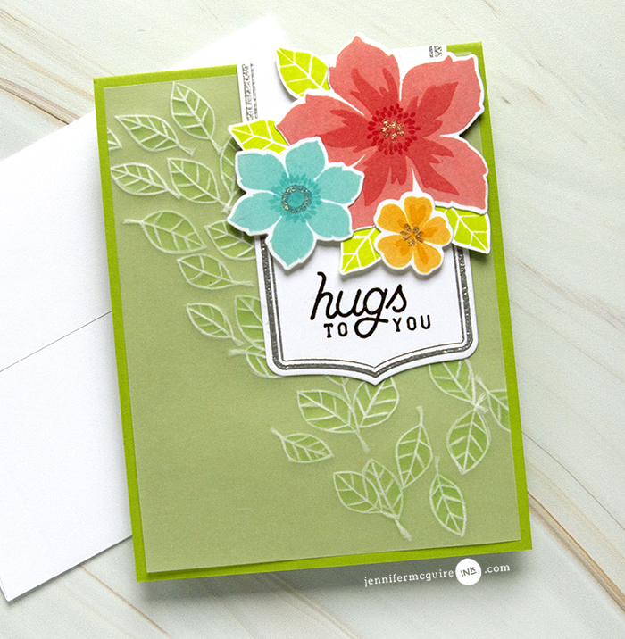 Dry Embossed Vellum Video by Jennifer McGuire Ink