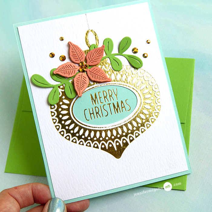 Letterpress & Foil Video by Jennifer McGuire Ink