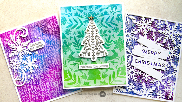 Embossed Watercolor Lift Video by Jennifer McGuire Ink