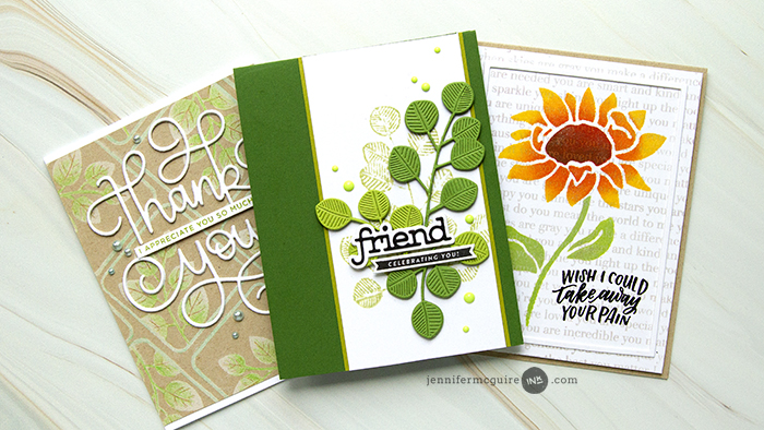 DIY Stamps Video by Jennifer McGuire Ink