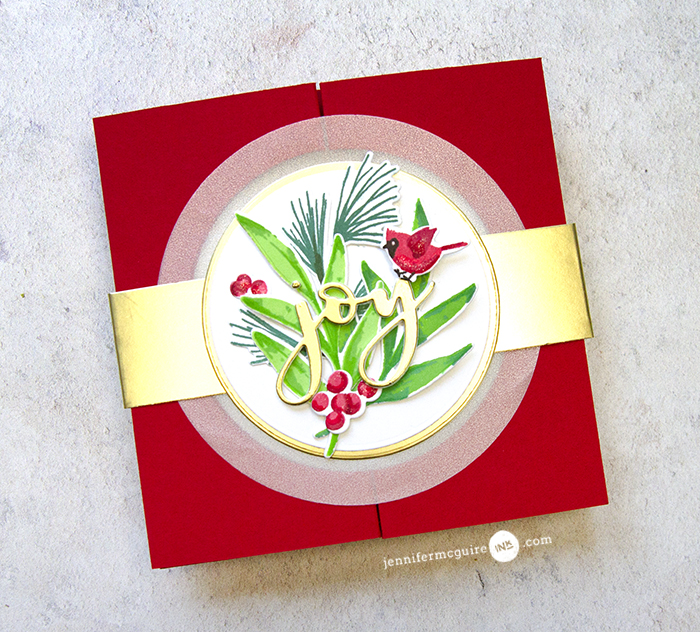Gatefold Window Cards Video by Jennifer McGuire Ink