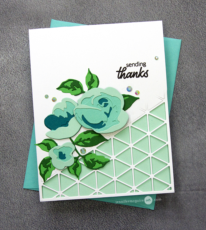 Open Border Card Video by Jennifer McGuire Ink