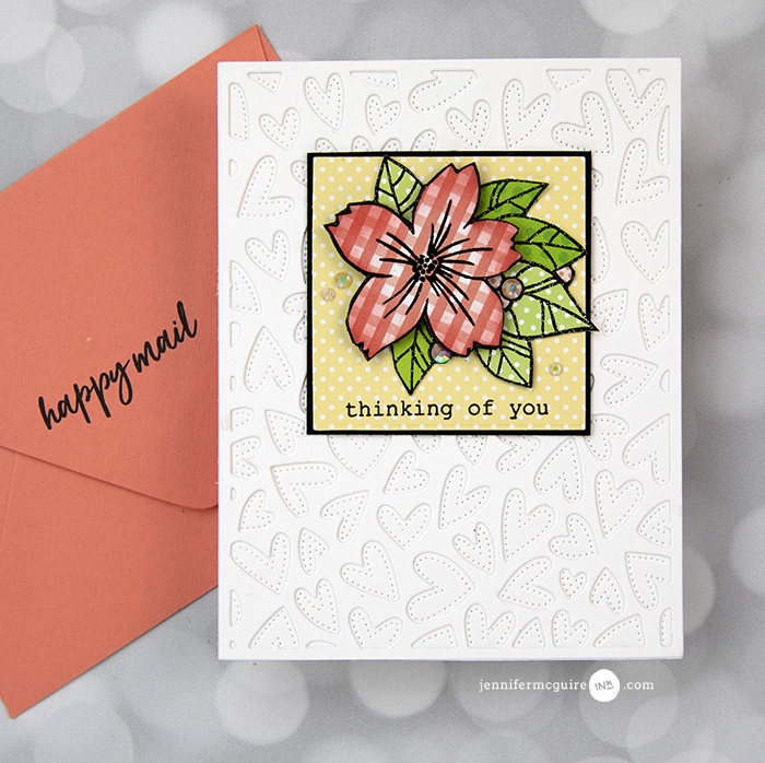 Stamped Paper Piecing Video by Jennifer McGuire Ink