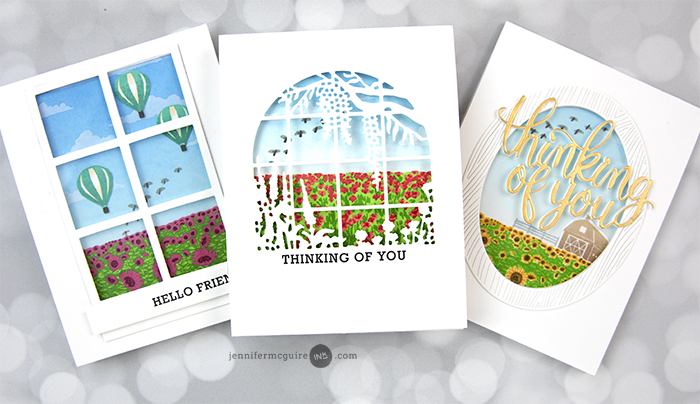 Window Scene Cards Video by Jennifer McGuire Ink