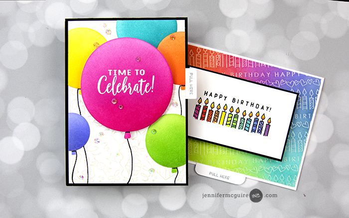 Pop Up Panel Card Video by Jennifer McGuire Ink