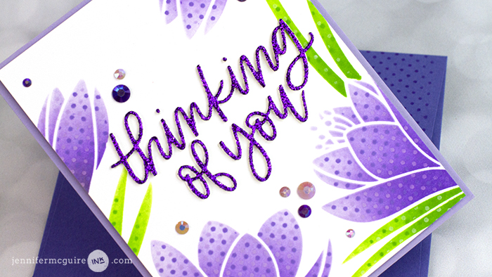 Stamping and Stencil Video by Jennifer McGuire Ink