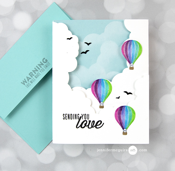 Inside Out Cards Video by Jennifer McGuire Ink