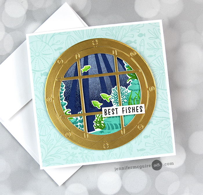 Sparkle Embossing 5 Ways Video by Jennifer McGuire Ink