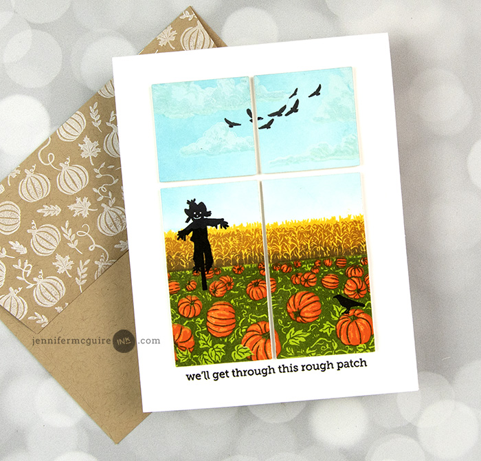 Die Cut Scene Cards Video by Jennifer McGuire Ink