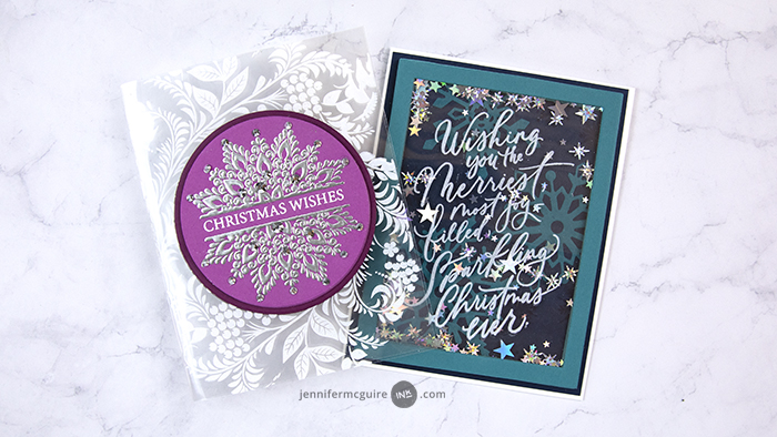 Laminated Stamping Video by Jennifer McGuire Ink