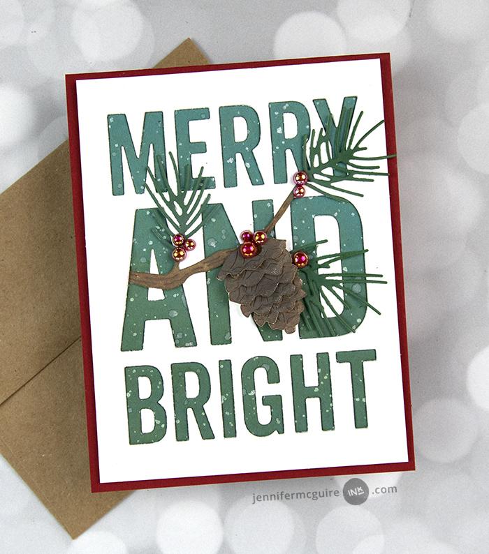 94481 Forest Pine Branch  craft die