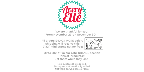 Avery Elle - 11/23 to 11/30