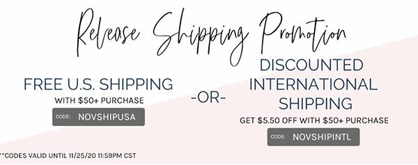 pinkfresh Shipping - ends 11/25