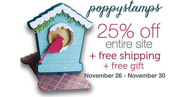 Poppy Stamps - 11/26 - 11/30