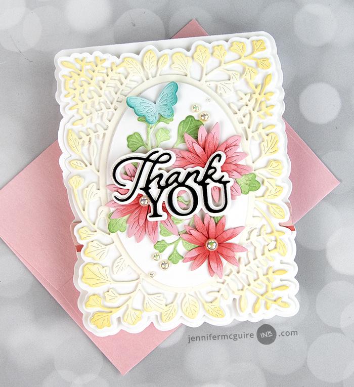 94529 Thank You Posh Script craft die