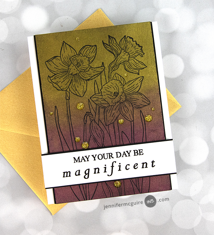 0421 Shimmer Layered Backgrounds Video by Jennifer McGuire Ink