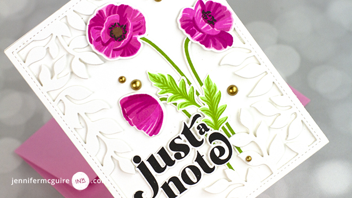 Layering Stamp Video by Jennifer McGuire Ink