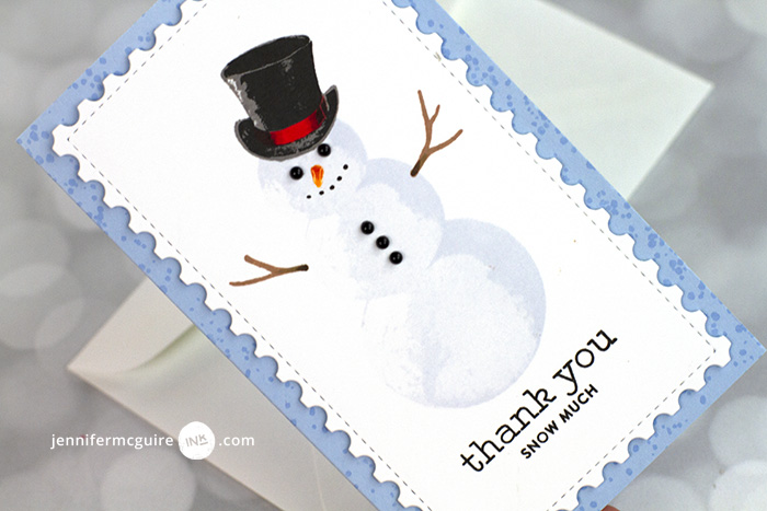 Stamping Layering Tricks Video by Jennifer McGuire Ink