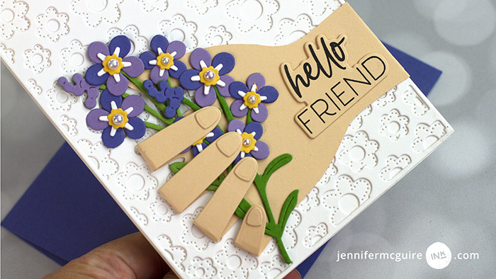 Mix and Matching With One Die Video by Jennifer McGuire Ink