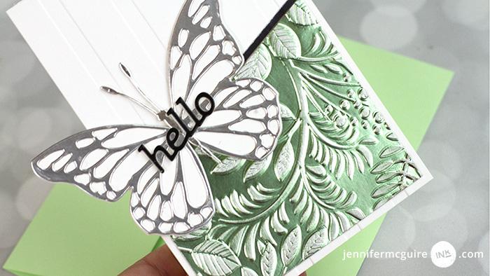 Faux Metallic Texture Video by Jennifer McGuire Ink