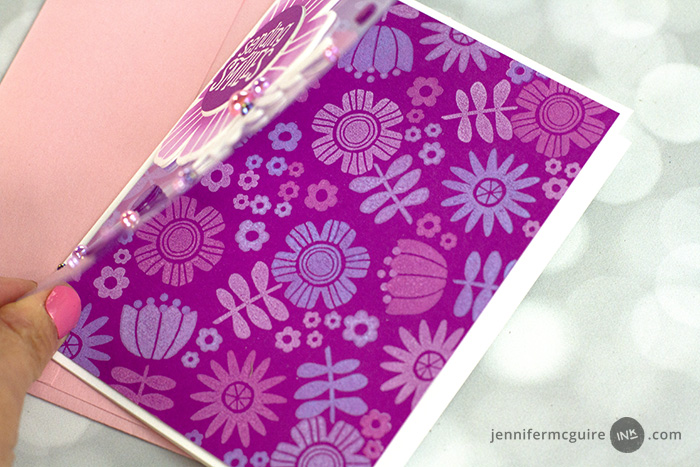Glow Stamping Video by Jennifer McGuire Ink