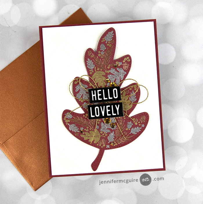 Simple Swing Reveal Cards Video by Jennifer McGuire Ink