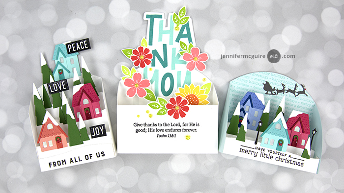 3-D Display Cards Video by Jennifer McGuire Ink