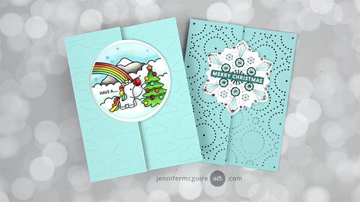 Easy Flip Cards Video by Jennifer McGuire Ink