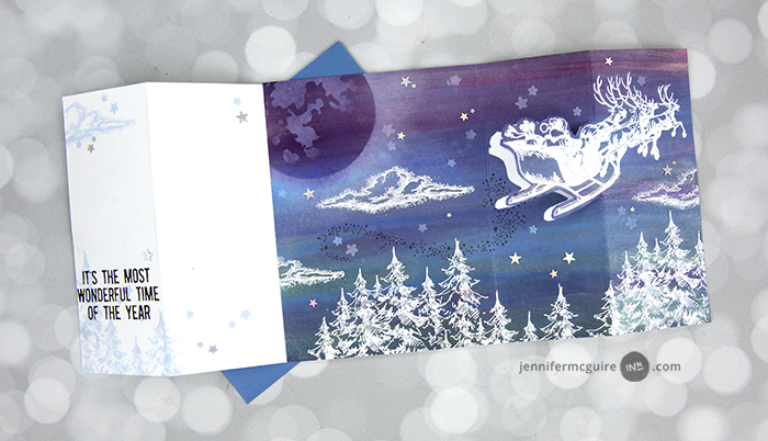 Fold-Out Scene Cards Video by Jennifer McGuire Ink